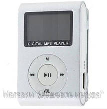 Плеер МП3 MP3 металлический с экраном и клипсой!Опт, фото 3