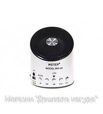 Портативная FM MP3 колонка WSTER WS-A9!Опт, фото 3