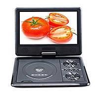 Портативный аккумуляторный мультимедийный DVD-плеер с SD PDVD NS-758, портативный dvd проигрыватель 7 дюймов!Опт