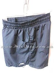Шорты женские плащёвка Nike тёмно-синие купить оптом со склада