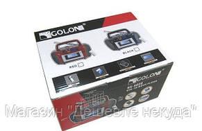 Портативный радио приемник Golon RX-662, радио-бумбокс Golon, радиоприемник, бумбокс колонка mp3 usb радио!Опт, фото 2
