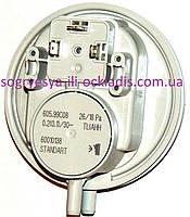 Датчик давления воздуха 26/18 Pа (прессостат, без фир.упак,Италия) Bosch,Buderus, арт. P26HC, код сайта 0709