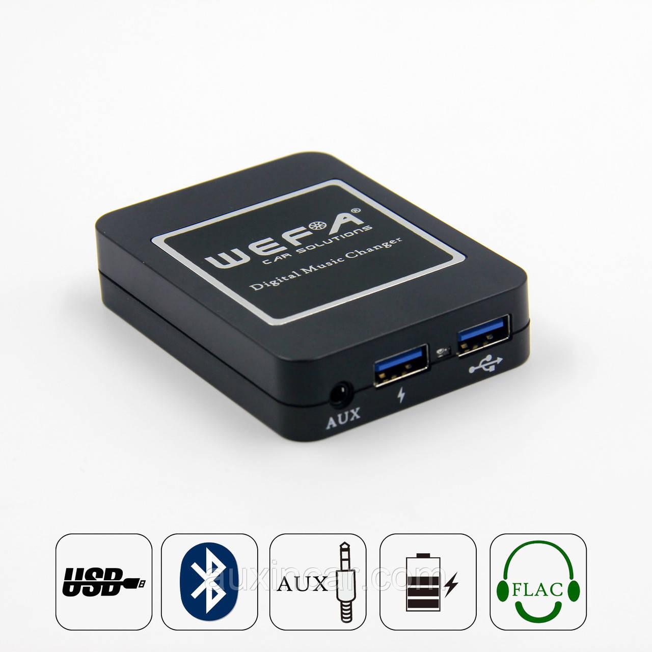 MP3 FLAC usb aux Bluetooth адаптер WEFA для штатной магнитолы Mazda