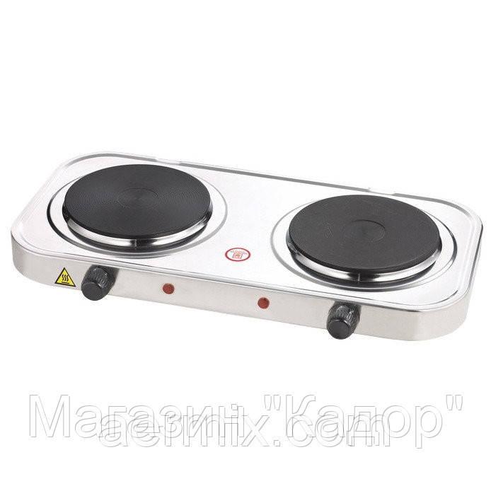 """Электрическая плитка Hot Plate НР-002, настольная плита 2-конфорочная!Опт - Магазин """"Кадор"""" в Одессе"""
