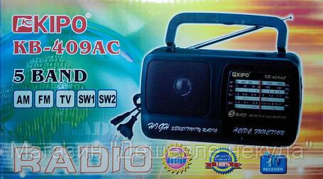 Радиоприемник KIPO KB 409AC!Опт, фото 2