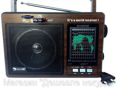 Радиоприемник Golon RX-9966 UAR!Опт, фото 2