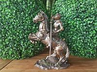 "Коллекционная статуэтка Veronese ""Рыцарь на коне"" (27 см) 73736A4"