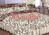 Постельное белье полуторное для хостелов