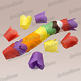 """Бумажные формочки для кексов """"Фиалка"""", пурпурные (150 шт., d=50 мм, высота бортика=60/70 мм), фото 2"""