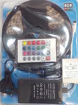 Светодиодная лента комплект 5050 RGB 5m complect 12v!Опт, фото 3