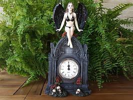 Коллекционные Каминные (настольные) часы Veronese Черный ангел 73649AA