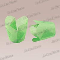 """Бумажные формочки для кексов """"Фиалка"""", зеленые (150 шт., d=35 мм, высота бортика=35/45 мм)"""