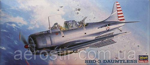 SBD-3 DAUNTLESS 1/72 HASEGAWA 51329