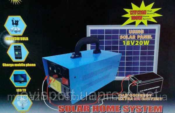 Солнечное зарядное устройство GDLITE GD 8018 Solar panel 18v 20w!Опт, фото 2