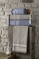 Махровое полотенце Arya Rancho 50х90 см серый
