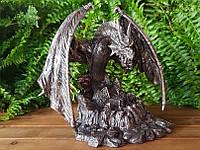 Коллекционная статуэтка Veronese Дракон, охраняющий сокровища 75202A1, фото 1