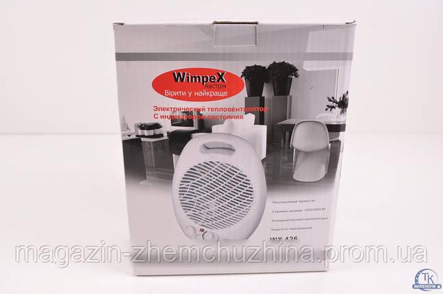 Тепловентилятор Wimpex FAN HEATER WX-426, электрический тепловентилятор Белая Церковь!Опт, фото 2