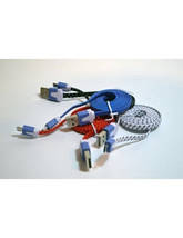 Кабель Samsung Micro V8 1м ткань (зарядка+DATA-кабель)!Опт, фото 3