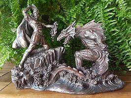Коллекционная статуэтка Veronese Персей с драконом 75458A4