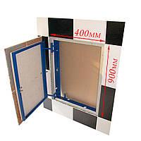 Ревизионный люк под плитку нажимной ФРН 40х90