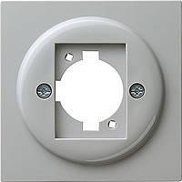 Накладка с опорным кольцом XLR C Gira S Color Серый (026542)