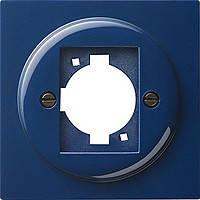 Накладка с опорным кольцом XLR C Gira S Color Синий (026546)