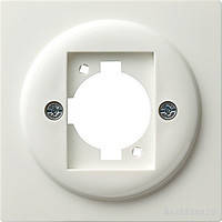 Накладка с опорным кольцом XLR C Gira S Color Белый (026540)