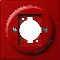 Накладка с опорным кольцом XLR C Gira S Color Красный (026543)
