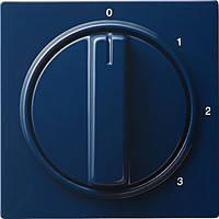 Накладка с поворотной ручкой для трехпозиционного переключателя Gira S Color Синий (066946)