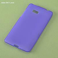 Чехол силиконовый для HTC Desire 600 violet