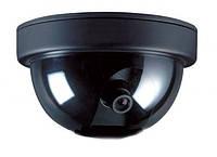 Муляж купольной камеры наблюдения 6688 двигающийся с датчиком