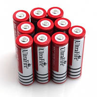 Аккумулятор литиевый 18650 Ultrafire 3.7V с защитой GREY!Опт