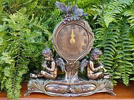 Коллекционные каминные (настольные) часы Veronese Херувимы с тайником AN10361A4
