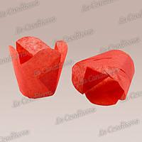 """Бумажные формочки для кексов """"Фиалка"""", красные (150 шт., d=50 мм, высота бортика=60/70 мм)"""