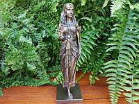 Коллекционная статуэтка Veronese Египетский царица со статуей Анубиса WU75648A4