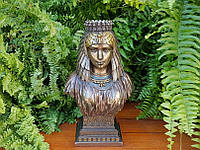 Коллекционная статуэтка Veronese Бюст египетской царицы WU75546A4