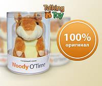 """Говорящий хомяк - повторюшка (Woody O""""Time). Игрушка. Повторяющий хомяк. Лучший подарок."""