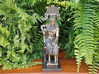 Коллекционная статуэтка Veronese Египетский фараон на троне WU75691A4
