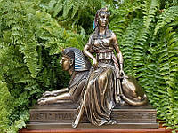 Коллекционная статуэтка Veronese Клеопатра на Сфинксе WU75693V4