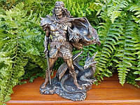 Коллекционная статуэтка Veronese Викинг с драконом WU75422A4