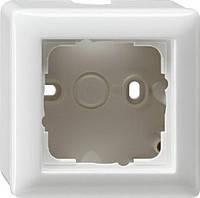 Корпус для накладного монтажа 1 местный Gira Standard 55 Белый (06103)