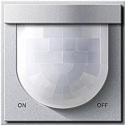 Автоматический переключатель 2 Komfort 2,20 м Gira TX_44 Алюминий (230265)