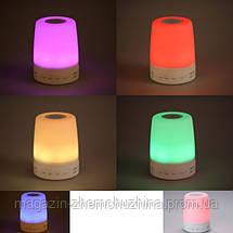 Портативный динамик Bluetooth AJ-99 с подсветкой хамелеон!Опт, фото 3