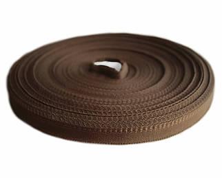 Тесьма брючная коричневая (1,5 см., 50 м., Украина)