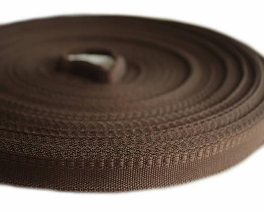 Тесьма брючная коричневая (1,5 см., 50 м., Украина), фото 2