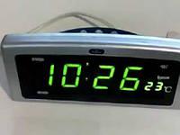 Часы CX 818 (red, green), электронные часы, настольные часы с подсветкой, Led часы, часы от сети!Опт