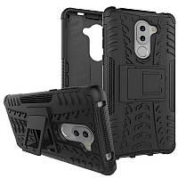 Чехол Huawei GR5 2017 / Honor 6X / Mate 9 lite противоударный бампер черный