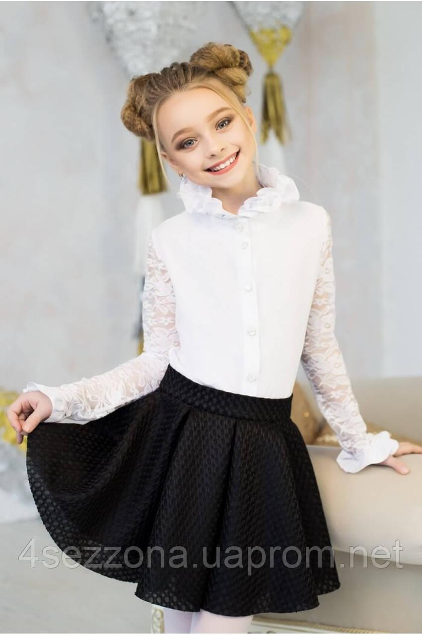 Купить блузку в школу для девочек