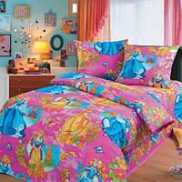"""Комплект постельного белья в кроватку """"Принцесса"""""""