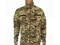 Куртка из полар-флиса пиксель ВСУ